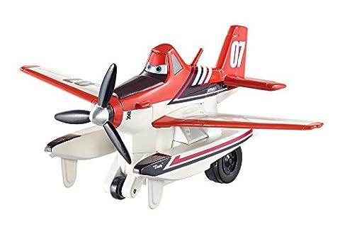 Planes - CDW04 - Véhicule Miniature - Firefighting Dusty - Avion À Retrofriction