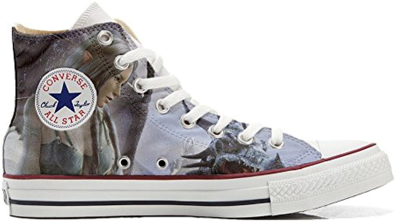 Converse All Star Customized - Zapatos Personalizados (Producto Artesano) Elfo Style  -