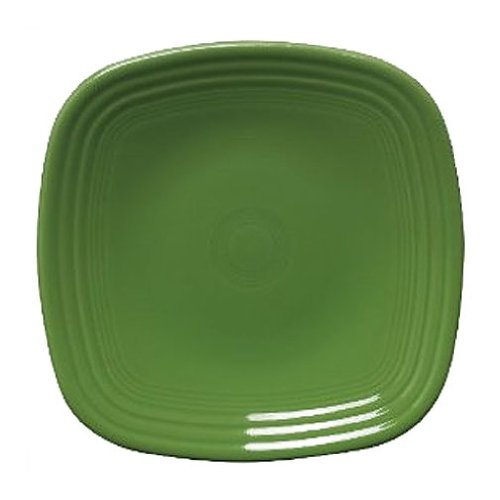 Fiesta 10-3/4-Inch Square Dinner Plate, Shamrock by Homer Laughlin (Fiesta Geschirr Shamrock)
