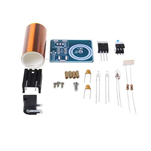 LLAni 9-12 V BD243 Mini-Tesla-Spulen-Set, Elektronik, Heimwerker-Teile, kabellose Übertragung, DIY-Board-Set 1 -