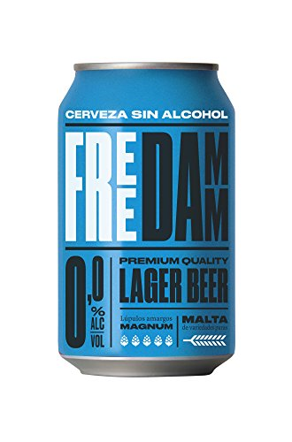Damm Free 0,0 - Alkoholfreies helles Bier - 1 x 0,33 l