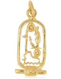 7e8ebf704173 Tata Gisèle © Colgante Chapado en Oro – Egipto – Cartucho Egipcio – Bolsa  de Regalo