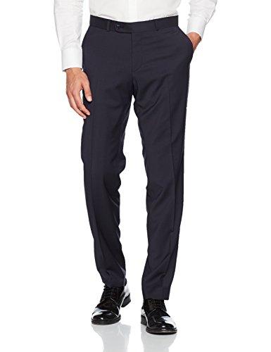 CARL GROSS Herren Anzug Hose Frazer Blau (Blau 63)