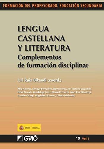 Lengua castellana y literatura. Complementos de formación ...
