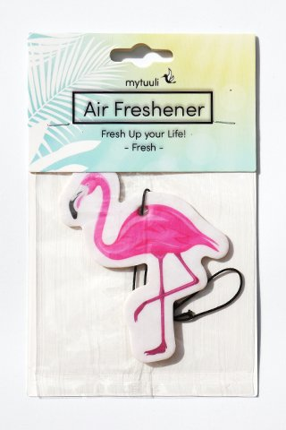 Lufterfrischer mytuuli Flamingo - Duftbaum- Duft: Frische