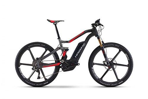 E-Bike Haibike XDURO FullSeven Carbon 10.0 27,5' 11-G XTR Bosch Performance CX, Rahmenhöhen:45, Farben:Carbon/Anthrazit/Rot matt