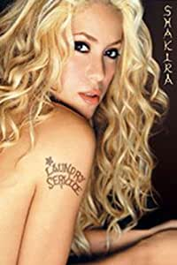 1art1 empire 16041 shakira laundry service album cover poster 61 cm x 91 5 cm. Black Bedroom Furniture Sets. Home Design Ideas