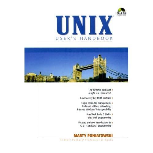 UNIX User's Handbook by Marty Poniatowski (2000-04-12)