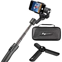 Feiyu Vimble 2 Handheld Estabilizador de Cardán Extensible ,Gimbal Estabilizador 3 ejes con Varilla de Estabilización de Trípode Perfecta para Smartphone, ...