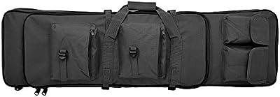liu-qu maletín para escopeta táctica con correa de hombro ajustable