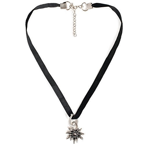 trachtenkette-edelweiss-mit-satinband-schwarz-damen-dirndlkette-oktoberfest