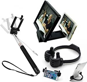 Selfie Stick 3D Screen Mobile Stand