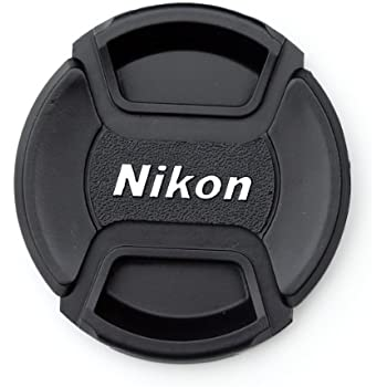 NIKON LC-58 58mm Center Pinch Front Lens Cap, Camera Lens Cover, Camera Lens Cap for NIKON 58mm