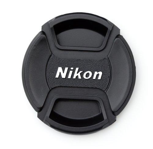 62mm Front Lens Cap (NIKON 62mm Center Pinch Objektivdeckel Front Lens Cap für Nikon, Objektivdeckel für Kameras, Lens Cap Snap-on für NIKON 62mm)