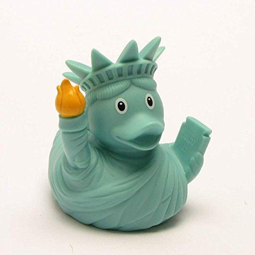 Quietscheente Liberty Ente, Gummiente, Quietscheentchen, Badeente, Quietsch Ente, Sammelfigur, Gummi Bade Spielzeug, LiLaLu, 1991