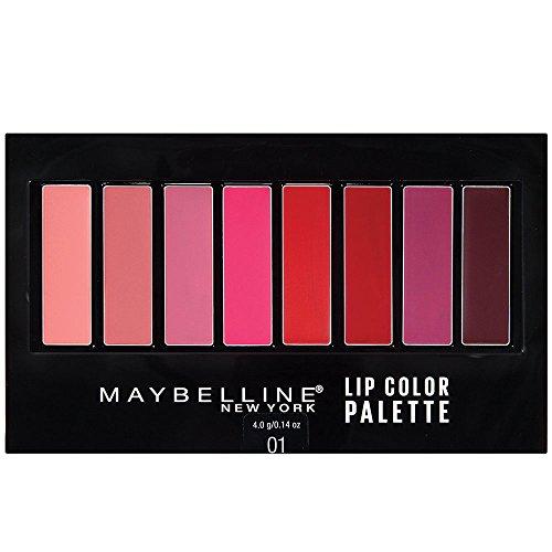Maybelline New York Lip Studio Lip Color Palette, 0.14 Ounce