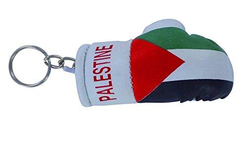 Schlüsselanhänger-Schlüssel, Flagge Palästinas Palästinensischen Boxhandschuh Schlüsselanhänger flag