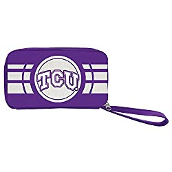 NCAA TCU Horned Frogs Ripple Zip Wallet