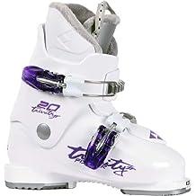 Fischer Skischuhe Soma Trinitiy JR 20 - Botas de esquí alpino, color Blanco, talla 21.5