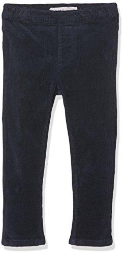 NAME IT Baby-Mädchen Nitbaloni Skinny Cord Legging F Mini Blau (Dress Blues Dress Blues), 98