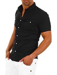 Carisma Chemise à manches courtes homme en couleurs divers