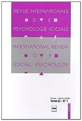Revue Internationale de Psychologie Sociale, N° 22-1, 2009 :