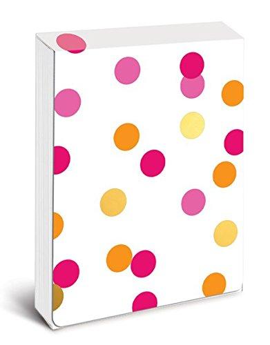 Pocket Notes: Orange Pink and Gold Confetti – Notizblock im praktischen Taschenformat: Orange, rosa und goldene Konfetti (Notizblock im Taschenformat)