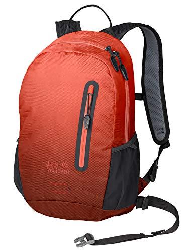 Jack Wolfskin Halo 12 Pack Fahrrad Wander Rucksack, Aurora orange, ONE Size (Halos Orangen)