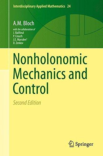 Nonholonomic Mechanics and Control (Interdisciplinary Applied Mathematics (24), Band 24)