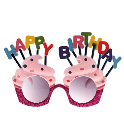 hday Sonnenbrille Geburtstag Party Brille Foto Requisiten Geburtstagsgeschenk ()