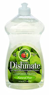 Natural Pear : Earth Friendly Products Dishmate, Dishwashing Liquid, Natural Pear, 25-Ounce (Pack of 2)