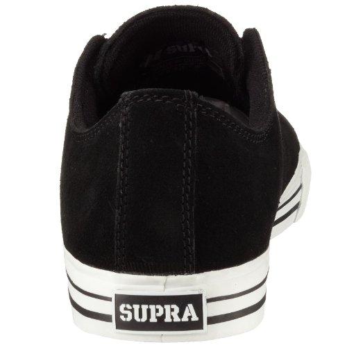 Supra Thunder Low Suede s38008, Scarpe da ginnastica, Uomo–skateboarding Nero (nero)
