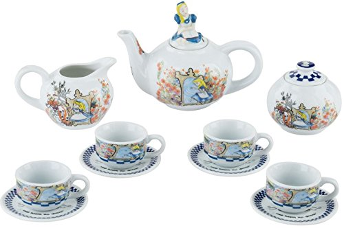 Cardew Alice im Wunderland-Through The Looking Glass Miniatur Teekanne Teetasse Tee-Set -