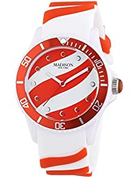 Madison New York analog Lollipop multi-color dial Unisex watch - U4620-11