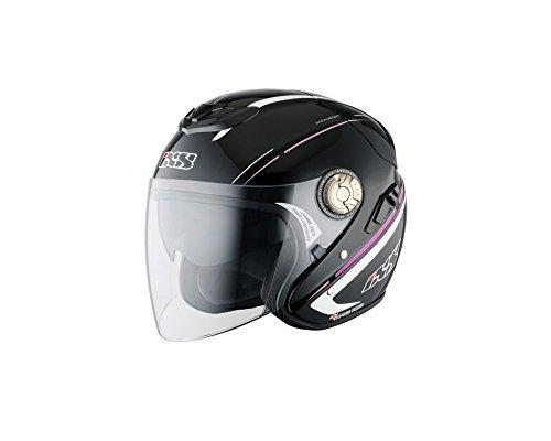 Jethelm IXS HX 91 BOOST schwarz-pink Gr.S