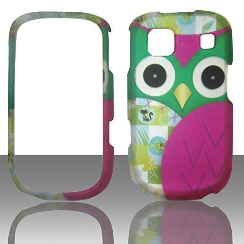 Att Handys Lg (2D Grün Eule ZTE Z431(AT & T GO Telefon) Schutzhülle Handy Snap auf Cover Case Protector Blenden)