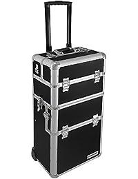 anndora Aluminium Reisetrolley Reisekoffer 60 L Koffer Beautycase 2 Räder - Farbwahl