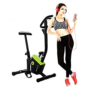 41Pnn8zl 8L. SS300  - Sumferkyh Indoor Cycling Portable Folding Spinning Bike And Elliptical Cross Trainer With Fitness Cardio Weightloss Workout Machine Calories