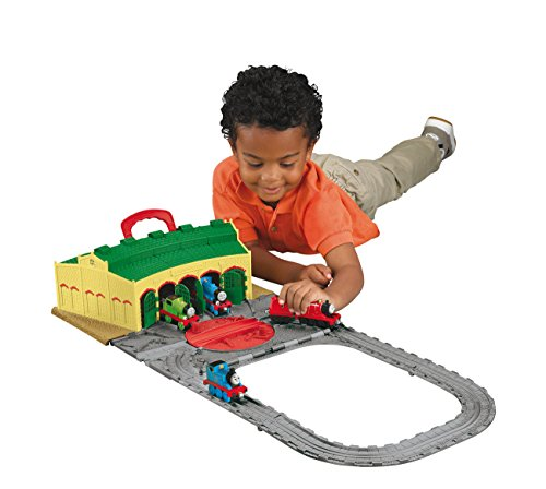 Image of Thomas & Friends Take-n-Play Tidmouth Sheds Playset