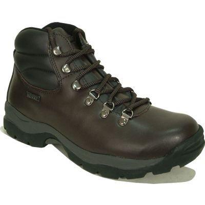 Hi-Tec Eurotrek Waterproof Hiking, Chaussures randonnée homme brown
