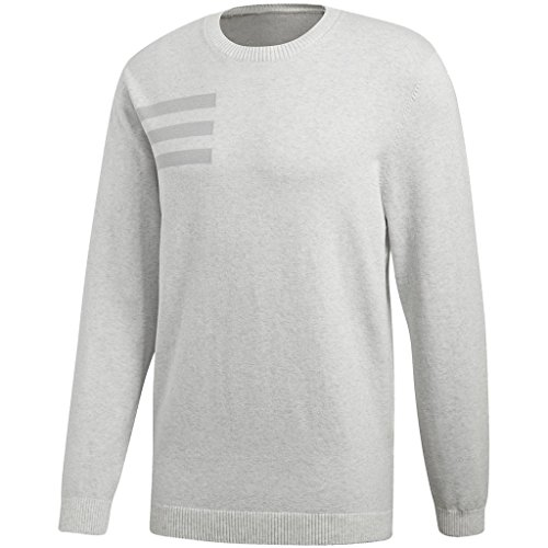 adidas Herren Blend Sweater -Crew mädchen Pullover, Grau (Gris CD9932), Medium