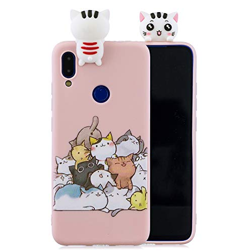 Keteen Cover iPhone 5/5s Silicone Custodia iPhone SE 3D Gatto TPU