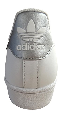 size 40 446cb d6b3b ... Manchester adidas originali superstar scarpe da ginnastica da uomo  S31641 scarpe da tennis white silver gold ...