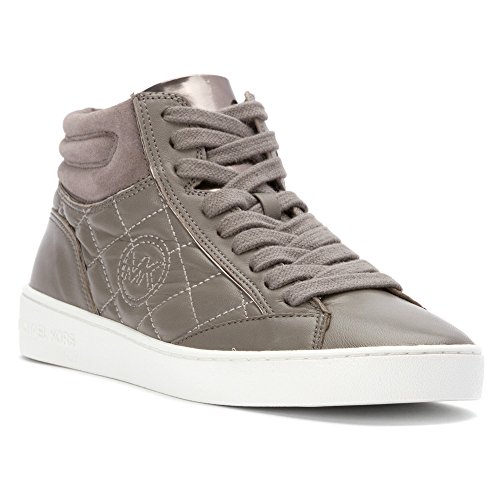 Michael Michael Kors Paige trapuntato High Top Sneakers Fashion Steel Grey
