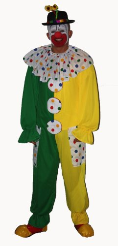 Clown Fancy Kleid Children in Need Kostüm Green & (Dragon Kostüm Kid)
