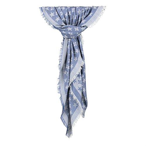 h4f-damen-schal-pali-tuch-blogger-sterne-blumen-stola-louis-violets-farbe-blau-grosse-onesize