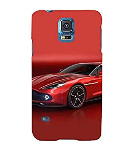 FUSON Red Royal Sports Car 3D Hard Polycarbonate Designer Back Case Cover for Samsung Galaxy Grand Neo Plus I9060I :: Samsung Galaxy Grand Neo+