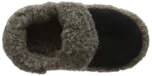 Woolsies Staten, Chaussons mixte adulte Gris (Graphite Grey)