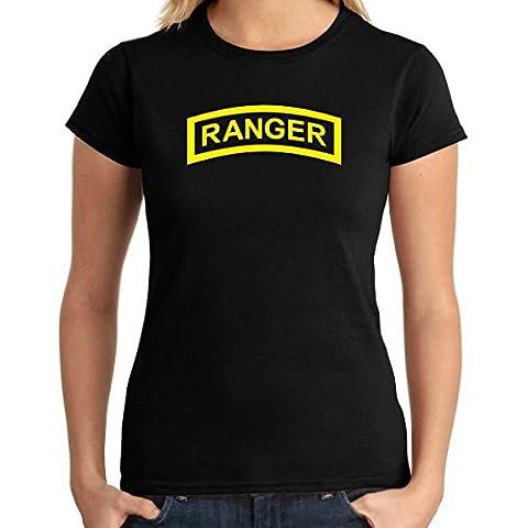 Cotton Island - T-shirt Donna TM0386 ranger tab