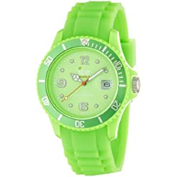 Ice Watch Sili Forever Green Analogue Quartz Unisex Wrist Watch SI. GN. S.S.09